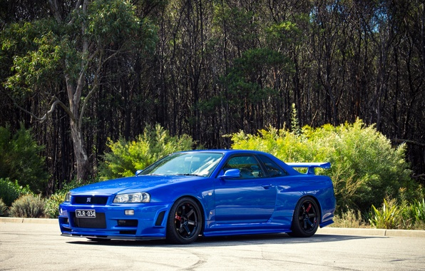Picture tuning, GT-R, Nissan, Nissan Skyline, R34, skyline