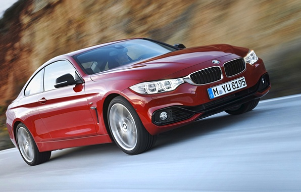 Picture road, coupe, BMW, the fourth series