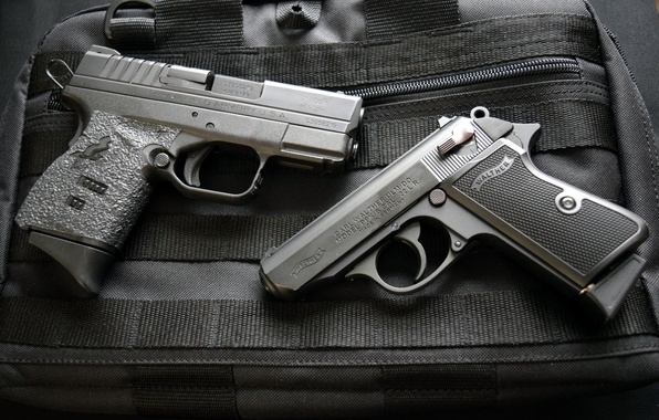 Wallpaper weapons guns 9mm walther ppks 22 springfield - Wallpapers guns free download ...