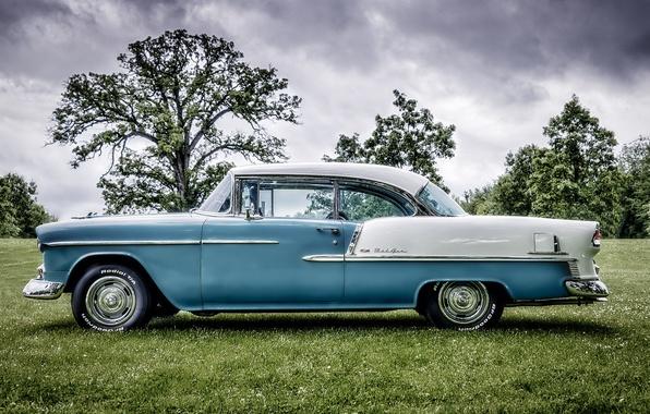 Picture retro, Chevrolet, classic, Bel Air