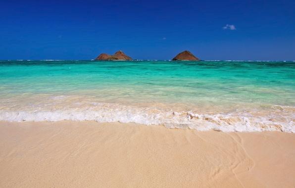 Wallpaper Winter, Sea, Beach, The Sky, The Ocean, Hawaii