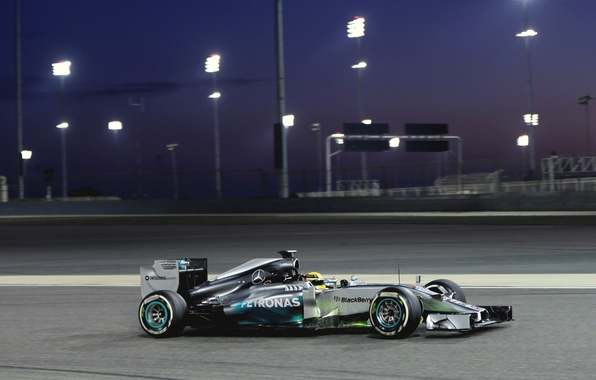 Photo Wallpaper Hamilton Formula 1 Lewis W05 Mercedes AMG