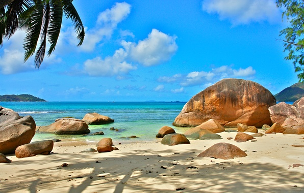 Picture nature, the ocean, stay, relax, Seychelles, exotic, Seychelles
