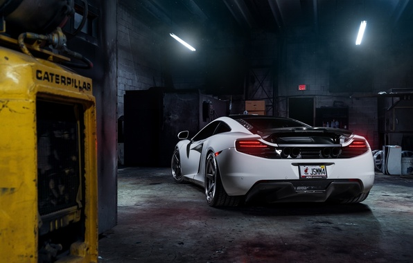 Picture McLaren, MP4-12C, Tuning, Supercars, Wheels, Rear, ADV.1, ADV6 TS