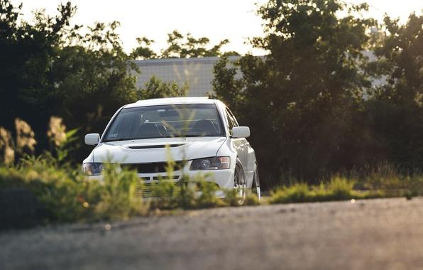 Picture car, Tuning, mitsubishi, tuning, lancer, Lancer, stance, Evolution, Mitsubishi, EVO 9