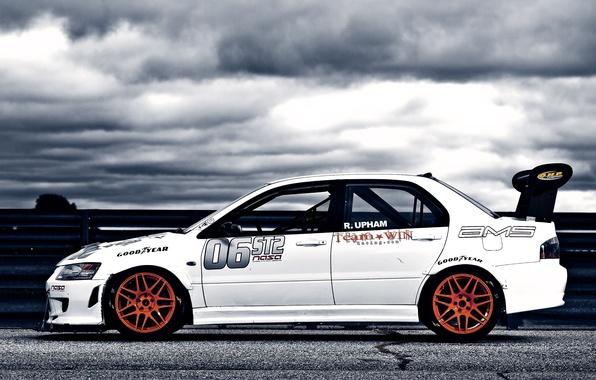 Picture Mitsubishi, cars, auto, Mitsubishi Lancer, wallpapers auto, Tuning auto, Cars walls, Tuning сars, Race car