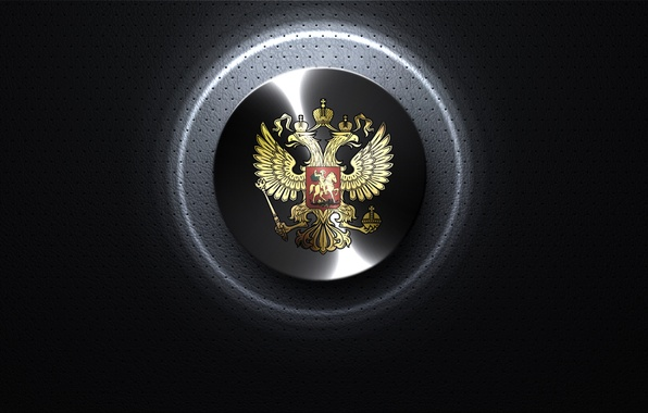 Picture texture, Russia, coat of arms