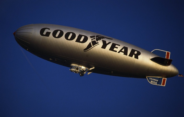 Picture the airship, airship, Goodyear, dirigible