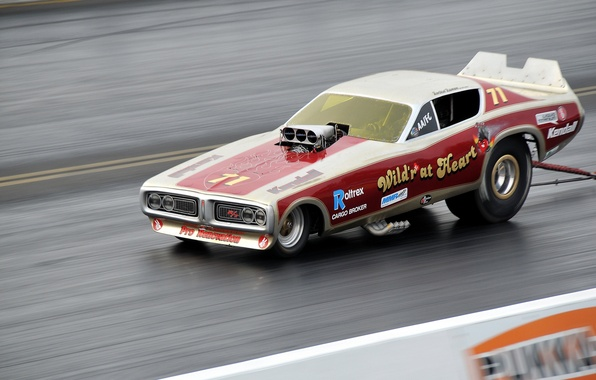 Picture race, track, muscle car, drag racing