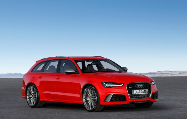 Picture red, Audi, Audi, Red, universal, Before, RS 6