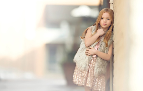 Picture portrait, girl, redhead