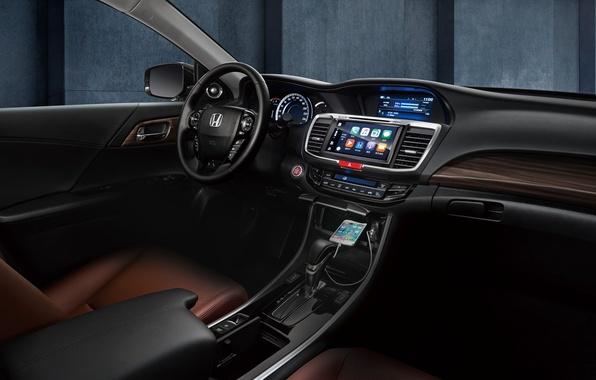 Picture Concept, panel, interior, the wheel, Honda, Accord, salon, Honda, chord, torpedo