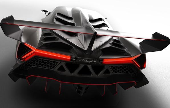 Picture Lamborghini, Lambo, New, Supercar, Italia, Spoiler, Veneno