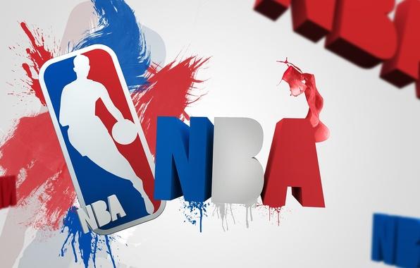 Picture squirt, letters, sport, logo, logo, logo, basketball, NBA, nba, National Basketball Association, National basketball Association