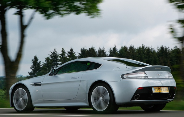 Picture auto, Aston Martin, Vantage, view, V12