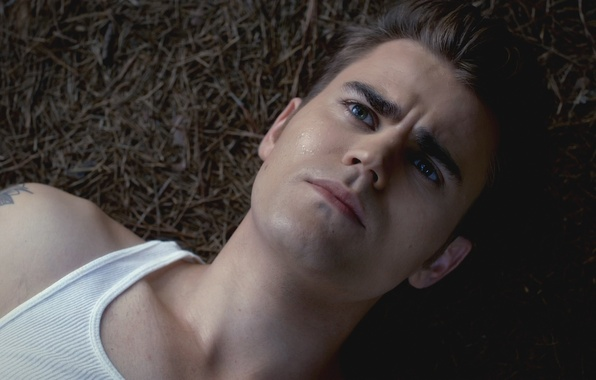 Picture eyes, drops, face, the series, the vampire diaries, Paul Wesley, Paul Wesley, The vampire diaries