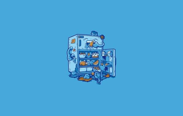 Picture Minimalism, Art, Refrigerator
