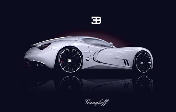 Picture Concept, Auto, Bugatti, The concept, Bugatti, Car, Supercar, Gangloff