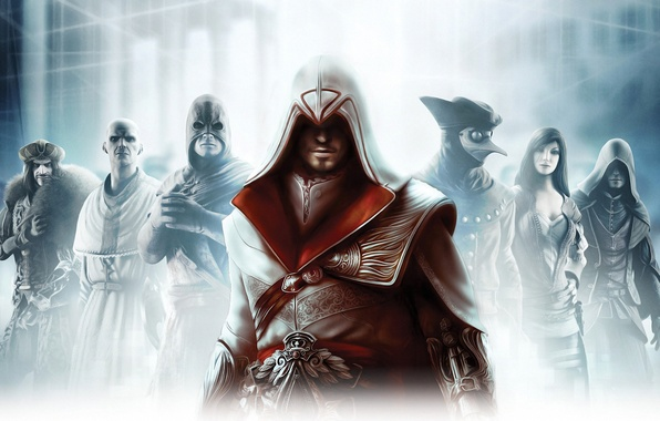Picture assassins creed, brotherhood, brotherhood