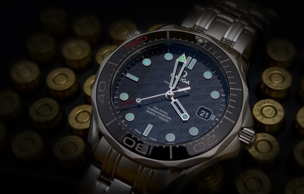Wallpaper watch, omega...