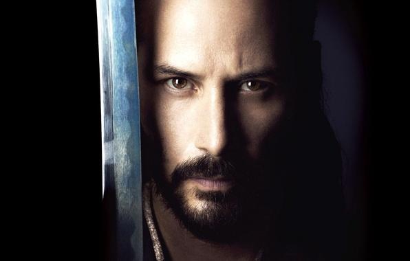 Picture face, the film, sword, katana, twilight, katana, Keanu Reeves, Keanu Reeves, 47 Ronin, 47 ronin