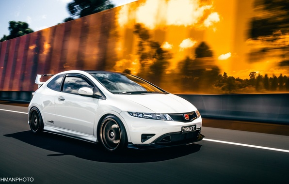 Honda Civic Sport Wallpaper Iphone: Wallpaper Sport, White, Honda, Japan, Jdm, Tuning, Civic