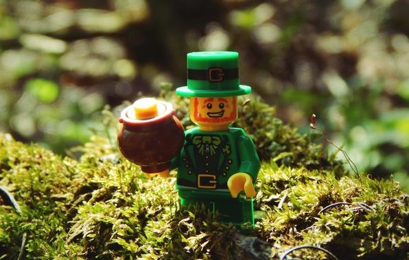 Photo Wallpaper Bisira Gold Leprechaun Forest Lego