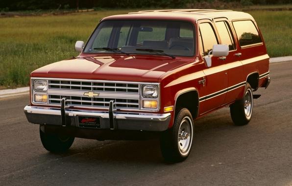Picture Chevrolet, 1982, Suburban, Chevrolet.the front, Scottsdale
