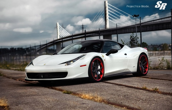 Picture Machine, Tuning, Ferrari, White, Italy, The project, Ferrari, Car, 2012, Car, Beautiful, 458, White, Wallpapers, …