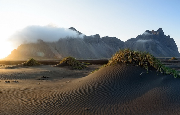 Picture Mountain, Iceland, Vestrahorn