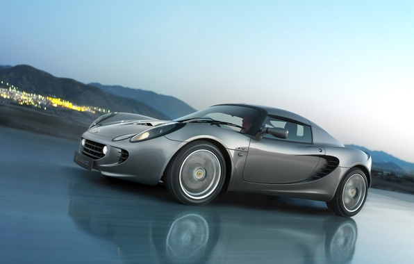 Picture speed, Lotus, sports car, Elise R