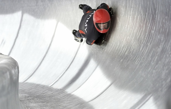 Picture sport, speed, sled