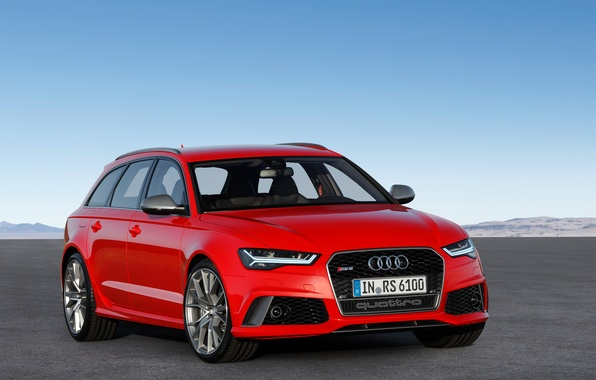 Picture red, Audi, Audi, Red, universal, RS 6, Avnt