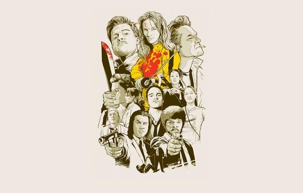 Picture movies, minimalism, Quentin Tarantino