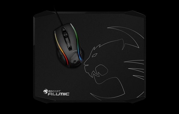 Picture mousepad, Roccat, gaming peripherals
