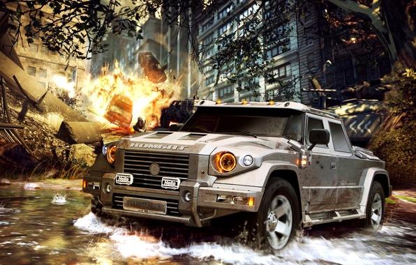 Picture car, Combat t-98, cool armored car, Kombat
