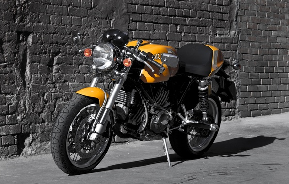 Wallpaper Cafe Racer, classic motorcycle, Ducati ...
