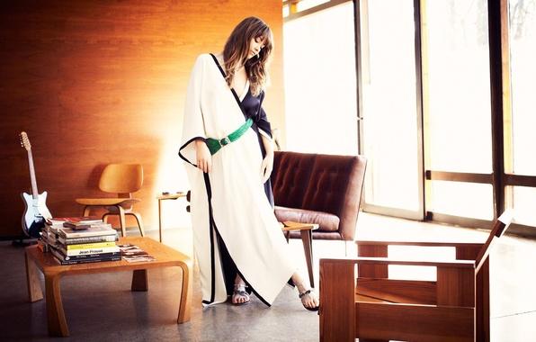Picture girl, style, interior, actress, Olivia Wilde, celebrity