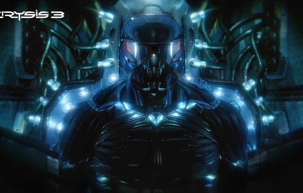 Picture Crysis, nanosuit, Crytek