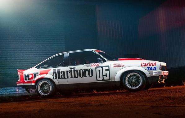 Picture profile, race car, Holden, Holden, profile, Castrol, Marlboro, Tauran, A9X, Torana