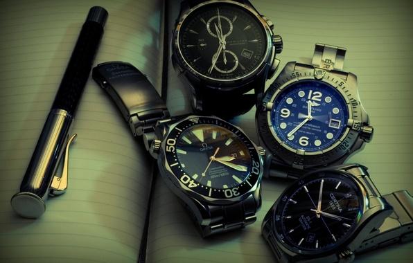 Picture Omega, watch, Hamilton, Certina