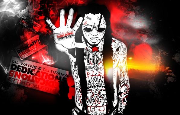 Picture dreadlocks, hip-hop, tatoo, rap, swag, lil wayne