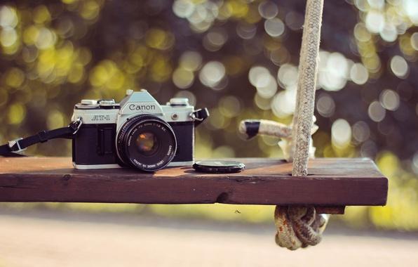 Picture camera, the camera, lens, canon, swing