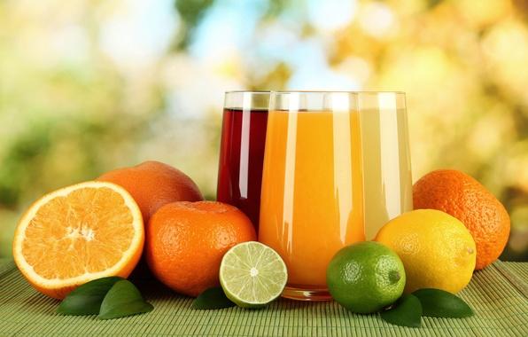 Picture lemon, oranges, juice, lime, juice, lemon, drink, orange