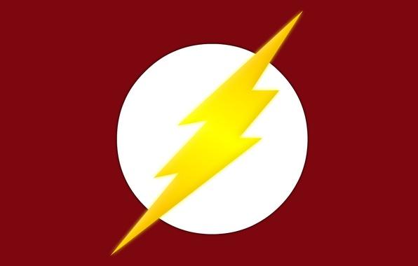 Picture red, logo, symbol, comics, Flash