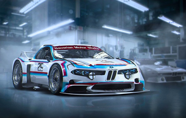 Picture Concept, BMW, Tuning, Future, 3.0, CSL, by Khyzyl Saleem