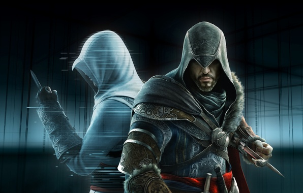 Picture the, creed, assassins, revelations, animus, unlock