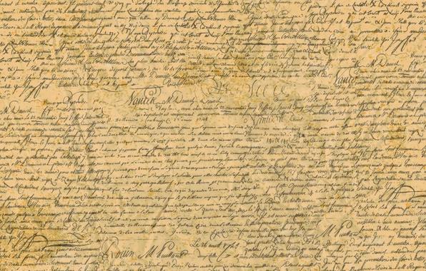 Picture paper, font, words, the manuscript