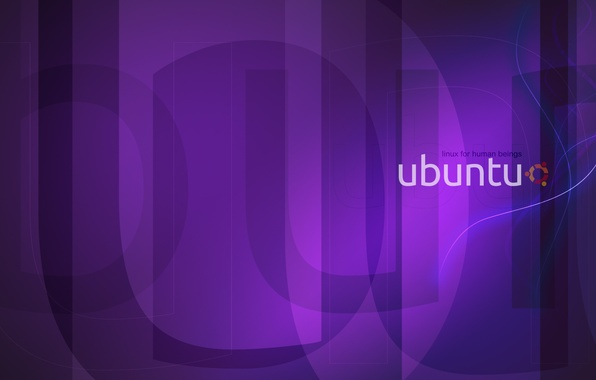 Picture purple, Linux, Linux, Ubuntu, Ubuntu, purple, violet