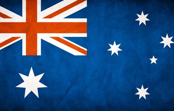 Picture flag, Australia, Australia